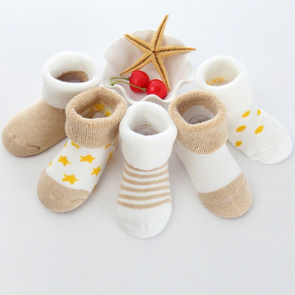 Носки; 5 пар; носки для малышей; короткие носки; противомоскитная Одежда для девочек; удобные милые детские носки; мягкие носки для мамы - Цвет: khaki