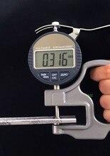 0.001 мм Цифровой Микрометр Толщиномер Метр 10 мм Портативные Электронные Микрометров Толщиной Тестер С RS232 Выходных Данных