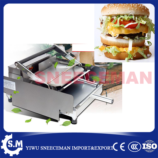 commercial Hamburger Machine Hamburger Machine Dryer Charter machine free ship new premium fast food equipment commercial package double grilled hamburger machine price