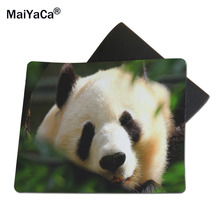 MaiYaCa Panda Bear Mouse Mats Laptop Laptop computer Notbook 18*22cm and 25*29cm and Lock Edge and No Lock Edge Mouse Pad