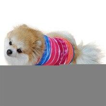 Multicolor Strip Vest T-Shirt