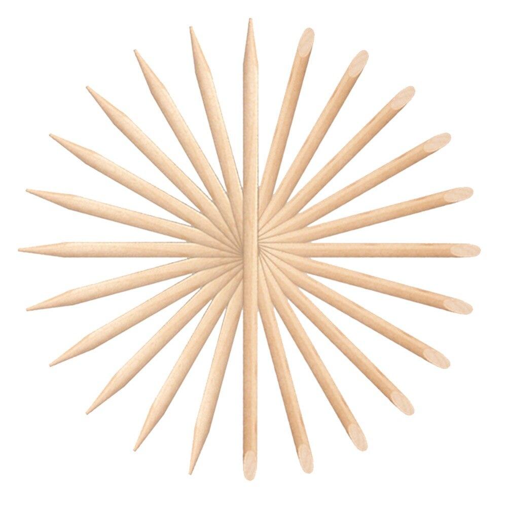 Aliexpress.com : Buy 100 Pcs Nail Art Design Orange Wood