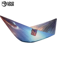 Unquie Parachute Hammock Tent Rede Hamaca Camping Hanging Chair Garden Hamac Swing Furniture