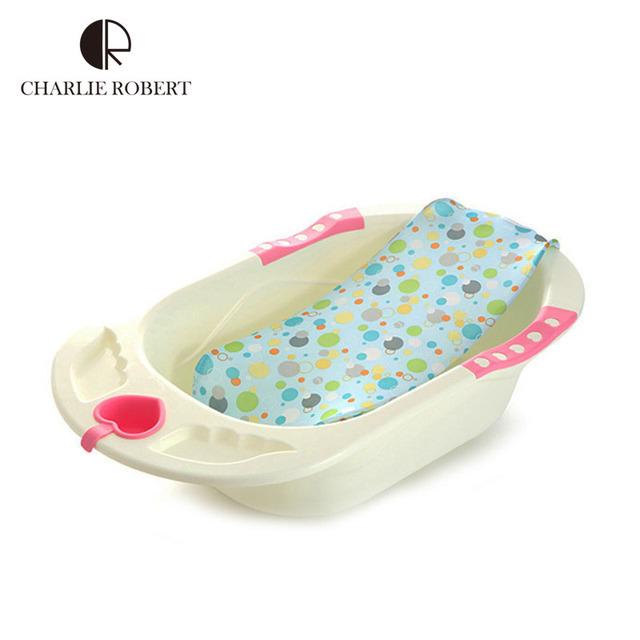 Marca banho do bebê banheiras pontos coloridos ajustável segurança segurança Bath suporte do assento de banho recém-nascido infantil Baby Shower HK559