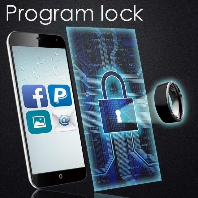 Jakcom R3 R3F Timer2 (MJ02) intelligent Anneau Nouvelle technologie Magique Doigt Pour iOS Android Windows NFC Téléphone Intelligent Accessoires 3