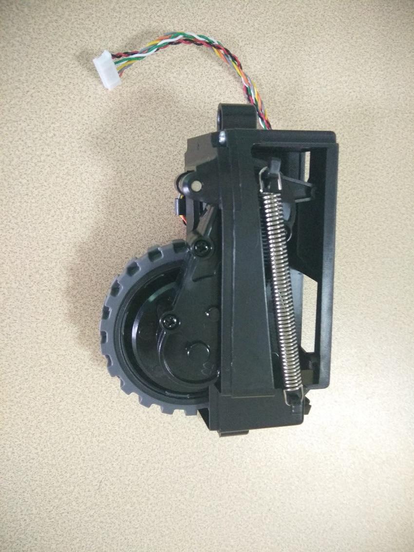 Original right wheel for chuwi ilife v5s ilife v5 pro ilife x5 V3+ V5 V3 robot Vacuum Cleaner Parts original left right wheel for robot vacuum cleaner ilife v3 v5 v3 x5 v5s kitfort robot vacuum cleaner parts include motor