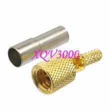 Connecteurs mâles compatibles avec les micro-points, RG174, RG316, RG188, pour défauts ultrasoniques, 10-32UNF