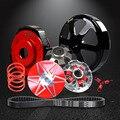 NIBBI Performance Racing Kit de Transmissão de Torque Elevado com Belt 743*20*30 para GY6 125 ~ 150CC Curto caso