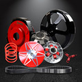 NIBBI Racing Performance High Torque Transmission Kit with Belt 743*20*30 for GY6 125~150CC Short Case