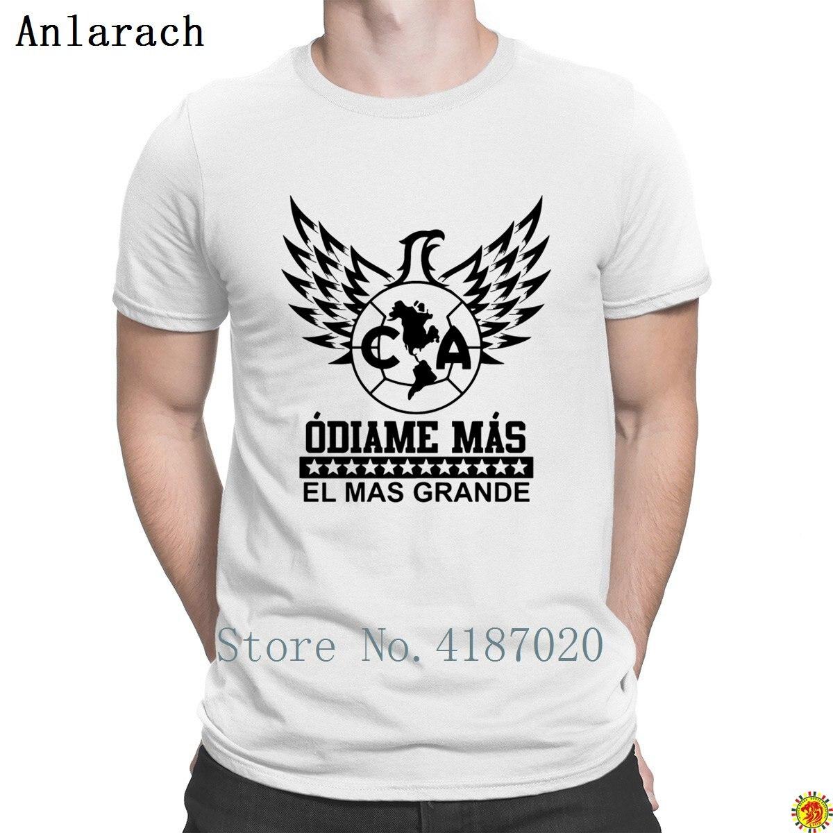 02993e467c7 Club America Mexico Aguilas Camiseta Jersey Odiame Tshirt Creative Loose  Websites Men's Tshirt Summer Kawaii Cotton