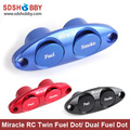 Miracle RC Twin Fuel Dot/ Dual Fuel Dot- Red/ Blue/ Black Color for Fuel Pipe and Smoke Pipe
