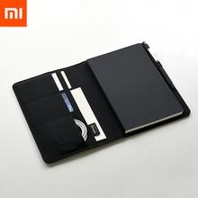 Xiaomi Mijia умный дом Kaco благородный бумажный Ноутбук PU Слот для карт кошелек книга для офиса путешествия с подарком