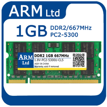 Sodimm DDR2 2GB 1GB 667MHZ ddr2 RAM notebook memory ddr 2 PC2-5300 for Laptop Memoria Lifetime Warranty(China)