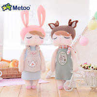 Metoo 33cm Plush Cute Stuffed Doll Baby Kids Toys For Girls Brinquedos Birthday Christmas Gift 13