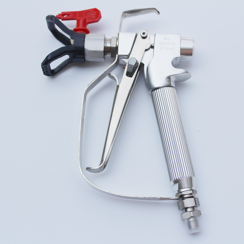 High Quality 1PC 4000PSI Airless Paint Spray Gun Kit With 517 Nozzle Guard For Graco Titan