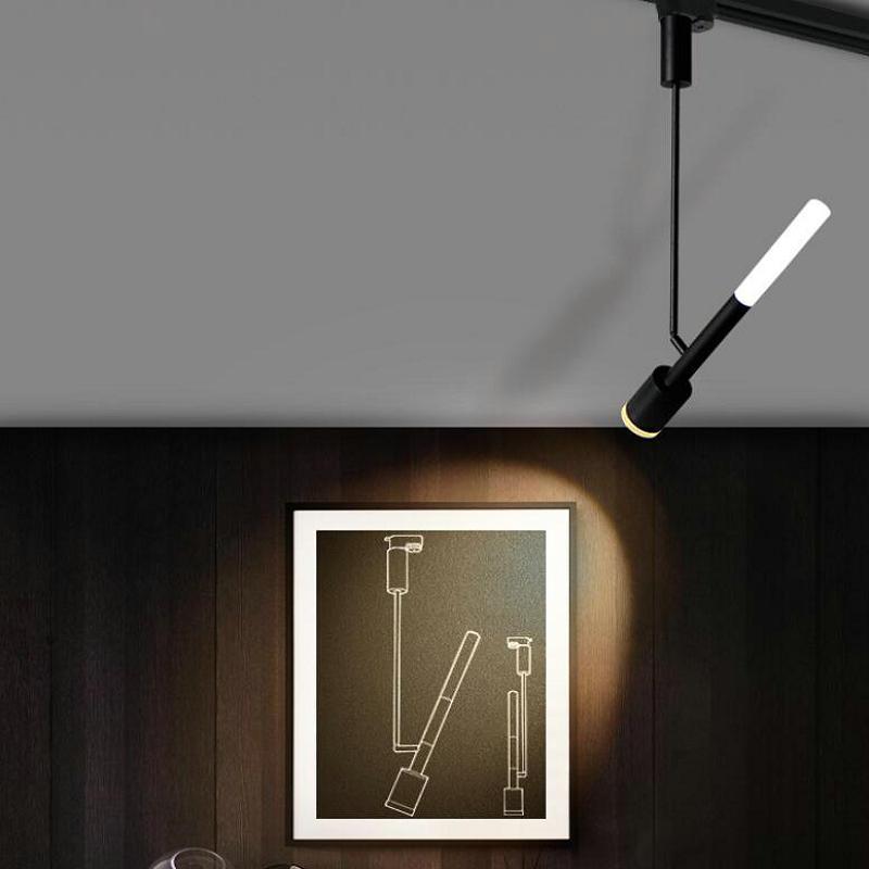 Les projecteurs de Rail de tache d'éclairage de Rail de plafond en aluminium de lumière de voie de dimmable 15 W LED remplacent des lampes d'halogène