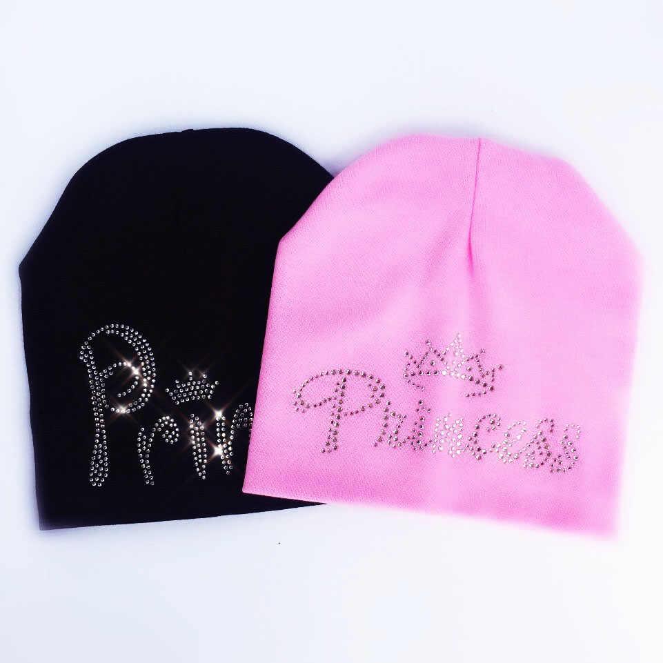 Kinderen Herfst prinses diamant Baby meisje Hoed Jongen Cap Kids katoen Beanie bonnet Kinderen baby cap voor jongen peuter hoed