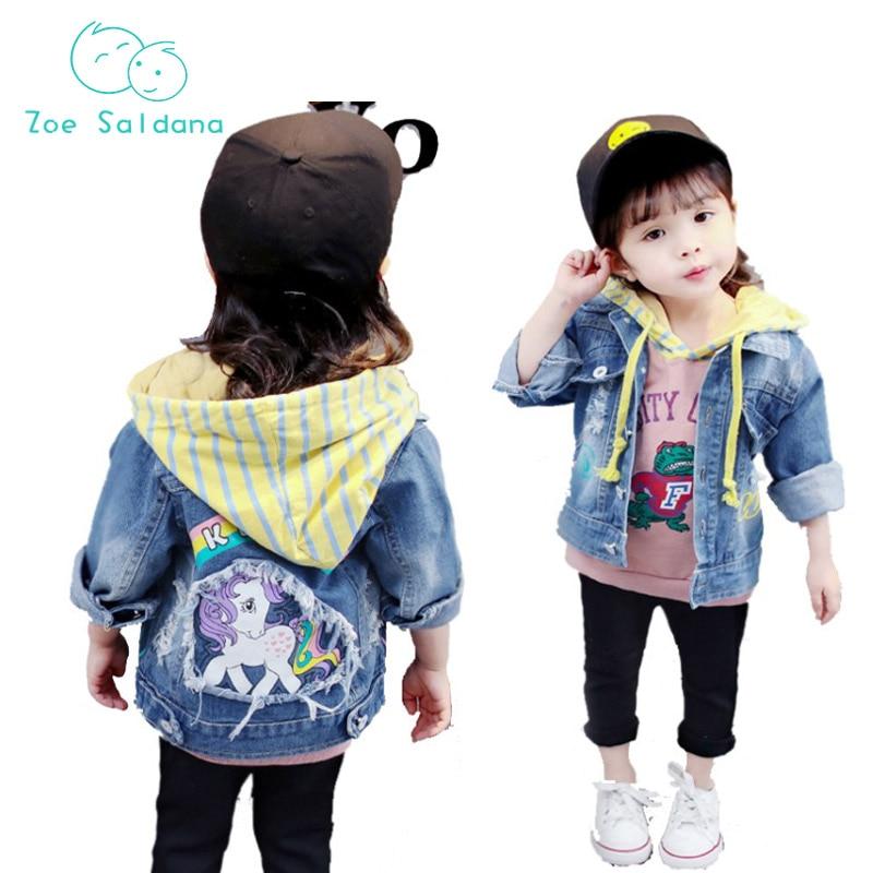 Zoe Saldana 2018 Kid Clothing Unisex Boys Baby Dziewczyny Denim - Ubrania dziecięce - Zdjęcie 1