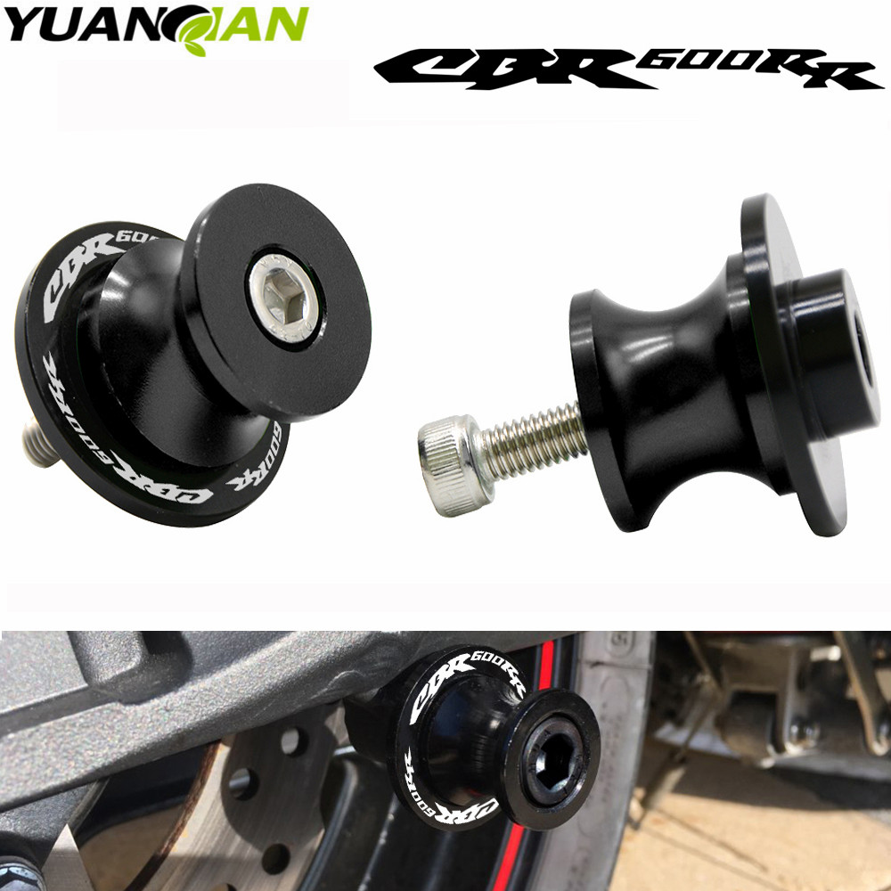 8mm Motorcycle Swingarm Sliders Spools Stand Slider For Honda CBR600RR <font><b>CBR</b></font> <font><b>600</b></font> RR 2003-2011 2004 <font><b>2005</b></font> 2006 2007 2008 2009 2010 image