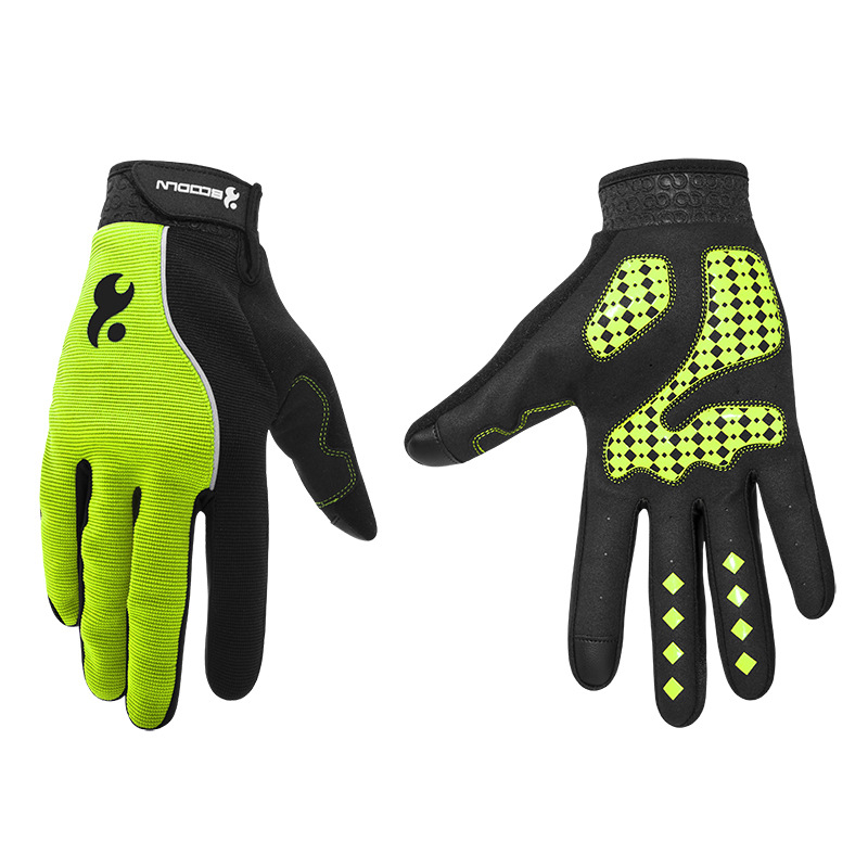 Men & Women Cycling Gloves Full Finger Screen Outdoor Bicycle Gloves - Cycling - Photo 1