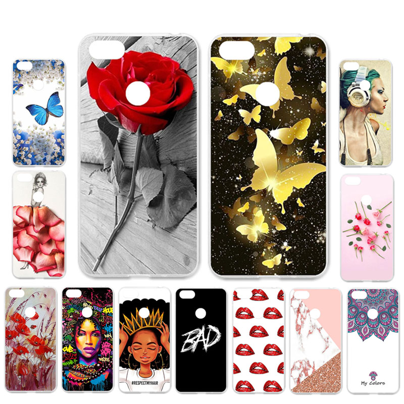 Ojeleye DIY Patterned Silicon Case For Lenovo A5 Case Soft TPU Cartoon Phone Cover For Lenovo A5 L18011 Covers Anti-knock Shell