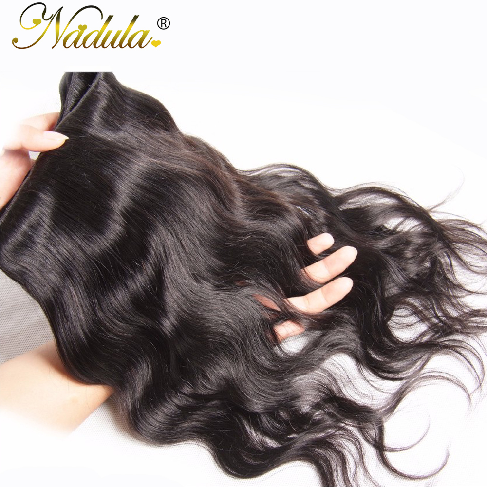 Nadula Hair  Body Wave  1 Piece Hair  Bundle 8-30inch  Hair Natural Color  6