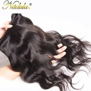 Image 5 - Nadula saç perulu vücut dalga İnsan saç 1 parça saç örgü demeti 8 30 inç Remy saç doğal renk ücretsiz kargo
