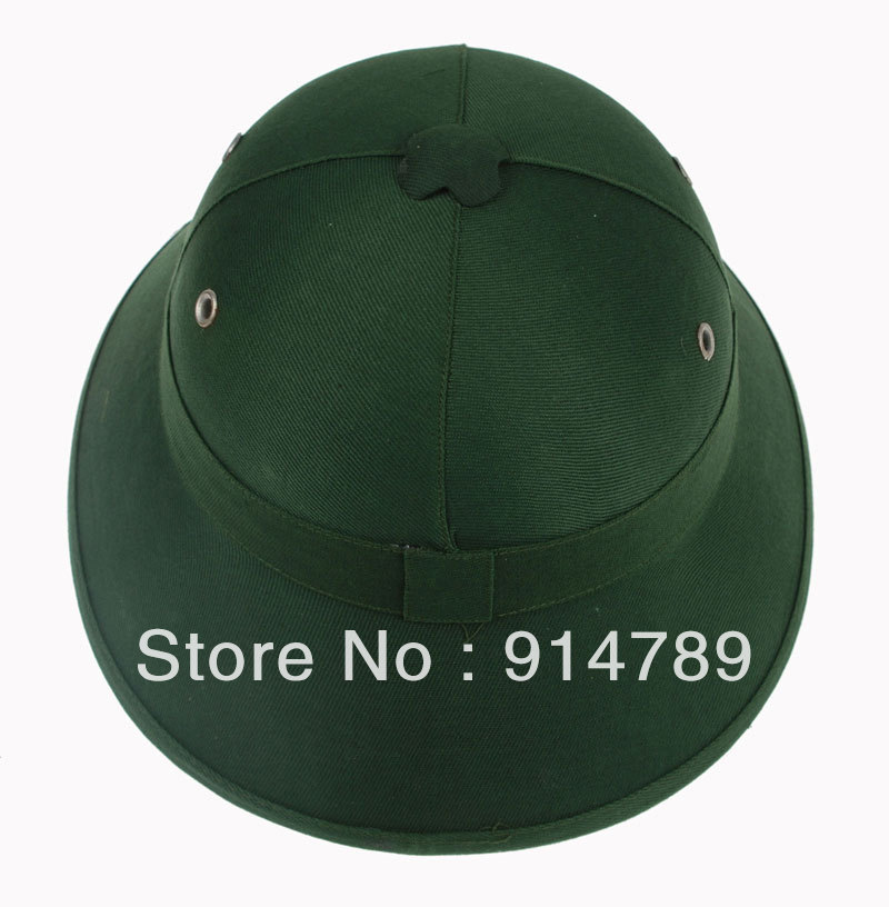 6ab61be58b3 VIETNAM WAR ARMY HAT NVA VIETCONG VC PITH HELMET GREEN 33524-in Costume  Accessories from Novelty   Special Use on Aliexpress.com