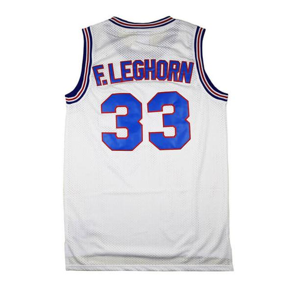 02f1e7b4470 Custom Basketball Jerseys Foghorn Leghorn #33 Space Jam Tune Squad Looney  Tunes Movie T-Shirt Men Women Youth Stitch Name Number