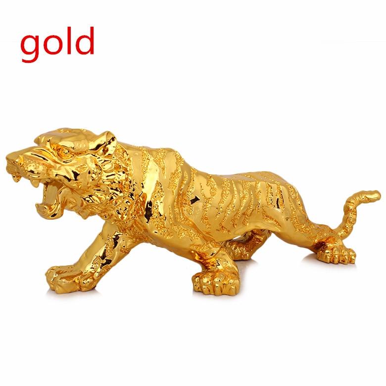 Ücretsiz kargo kaplan Avrupa mefruşat ürünleri altın kaplama el - Ev Dekoru - Fotoğraf 3