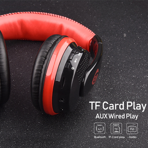 Image 5 - Over Ear Bass Stereo Bluetooth Headphone Wireless Headset Support Micro SD Card Radio Microphone