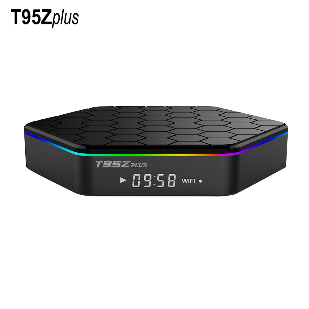Original T95Z Plus 2GB 16GB Amlogic S912 Octa Core Android 7.1 Smart TV BOX 2.4G/5GHz Dual WiFi BT4.0 T95Zplus TV Set Top Box smart set top box t95zplus octa core s912 2gb 16gb tv box media player wifi android iptv box support h265 tv receivers stb