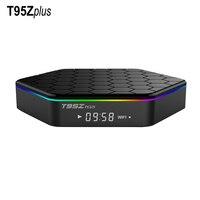 Orijinal T95Z Artı 2 GB 16 GB Amlogic S912 Octa Çekirdek Android 7.1 akıllı TV BOX 2.4G/5 GHz Çift WiFi BT4.0 T95Zplus TV Set Üstü kutu