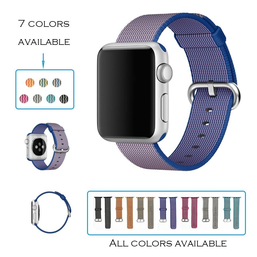 urvoi band for apple watch series 1 2 woven nylon strap. Black Bedroom Furniture Sets. Home Design Ideas