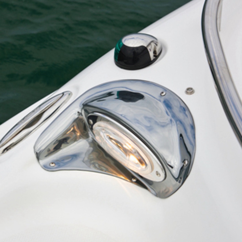 12V 8W Marine Boat Yacht Navigation Light Stainless Steel Bow Light Boat Accessories Marine in Marine Hardware from Automobiles Motorcycles