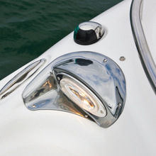 12V 8W Marine Boat Yacht Navigation Light Stainless Steel Bow Light Boat Accessories Marine