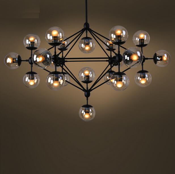 new modern lighting modo glass chandelier jason miller pendant lamp suspension lighting fixture 5 10 15 21 heads vintage led