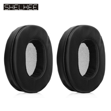 SHELKEE Ear Pads Replacement Earpads for Sony MDR-1A MDR-1ADAC/1ABT MDR-1R/1RBT MK2 Headphones Ear Cushion Cover Repair parts