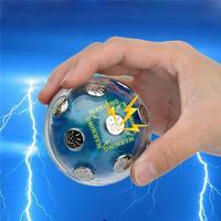 Aventura Toy Engraçado Choque Eletrônico Bola Brincando Chocante Jogo Batata Quente Da Novidade Do Presente Do Divertimento Para O Partido de Alta Qualidade Presentes de Natal