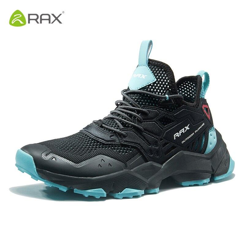 Rax Hommes chaussures de course en plein air Sport Sneakers Hommes Respirant Mesh Athletic Formateurs Amorti baskets de gymnastique Zapatillas Hombre