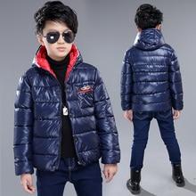 boys winter coat 2016 new children's winter jackets hooded thick winter warm jacket children clothing boy winter jacket coat