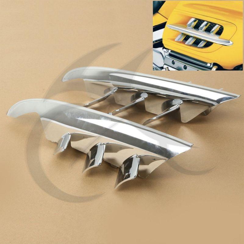 Chrome Shark Gills tisztító akcentusok a Honda Goldwing GL1800-hoz - Motorkerékpár tartozékok és alkatrészek - Fénykép 2