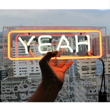 Birthday Message Board Atmosphere Neon Light Bar Acrylic Decorative Lamp Handcraft Wedding Box Neon Sign Party Hanging Gifts(China)