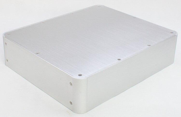 ST0088 Aluminum Chassis Amplifier Case Preamp Enclosure Amp Cabinet DAC Box
