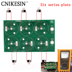 CNIKESIN Diy Six series plate 50F 100F 220F 360F 2,7 V 500F 400F six series super capacitor all plate protection plate