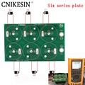 CNIKESIN Diy seis series de 50F 100F 220F 360F 2,7 V 500F 400F seis series super condensador todos Placa de protección placa