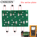 Cnikesin Diy шесть плиты серии 50F 100F 220F 360F 2,7 В 500F 400F шесть серии супер конденсатор все пластина защитный