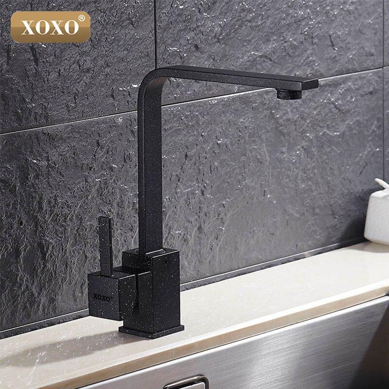 XOXO robinet de cuisine robinet d'eau froide et chaude mitigeur robinets de cuisine bec pivotant cuisine évier mitigeur robinets 83030 - 5