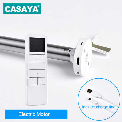 DC 5V Roller Blinds Motor Tubular Motor Persiana Charge line Automatic Electric zebra Blinds Motor Remote Controller C-DDD0630