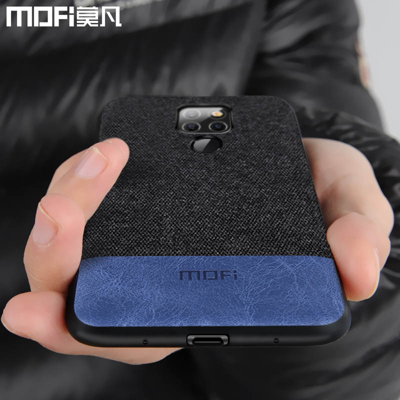 huawei mate 20 case cover Mofi original back cover silicone mate20 pro cover coque fabric shockproof huawei mate 20 pro case